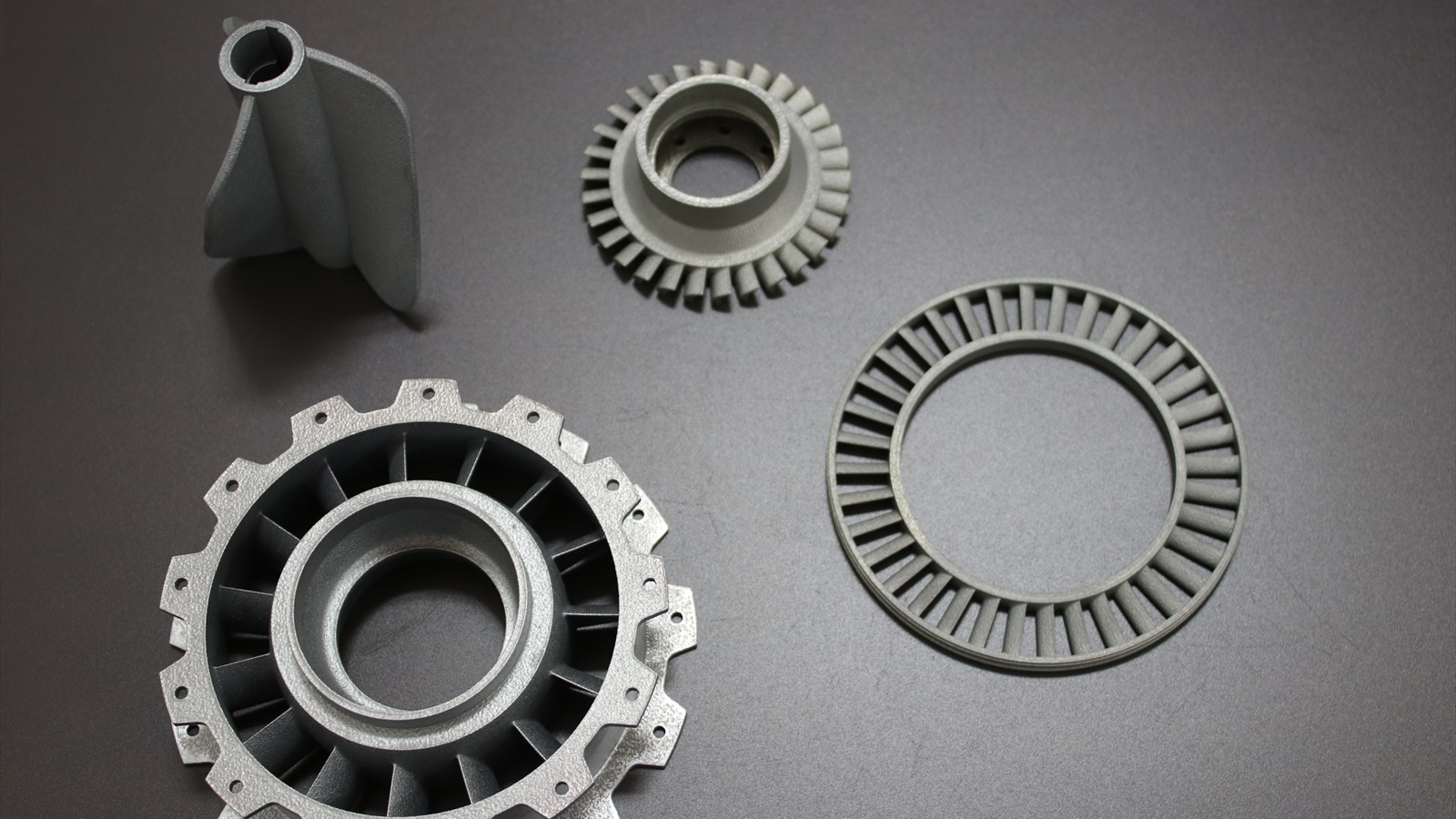 3D Metal Printed Impellers